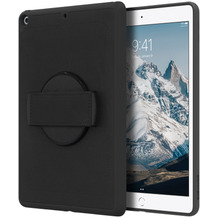 Griffin Survivor Air Strap 360 Case, Apple iPad 10,2 (2019), schwarz, GIPD-017-BLK