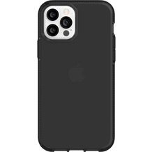 Griffin Survivor Clear Case, Apple iPhone 12/12 Pro, schwarz, GIP-051-BLK