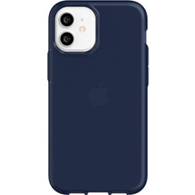 Griffin Survivor Clear Case, Apple iPhone 12 mini, navy, GIP-049-NVY