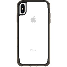 Griffin Survivor Clear Case, Apple iPhone XS Max, transparent/schwarz