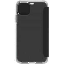 Griffin Survivor Clear Case, Wallet für Apple iPhone 11 Pro Max, schwarz/transparent, GIP-039-CLB