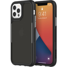 Griffin Survivor Endurance Case, Apple iPhone 12/12 Pro, schwarz/grau/smoke, GIP-056-BKG
