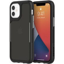 Griffin Survivor Endurance Case, Apple iPhone 12 mini, schwarz/grau/smoke, GIP-054-BKG