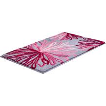 GRUND Badteppich ART rosé/grau 60x100 cm