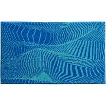GRUND Badteppich KARIM RASHID Concept 13 244 blau-türkis 60 cm x 100 cm