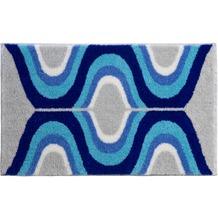 GRUND Badteppich KARIM RASHID Concept 18 004 blau 60 cm x 100 cm