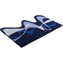 GRUND Badteppich KARIM RASHID Concept 19 048 blau 50 cm x 80 cm