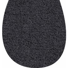 GRUND WC-Deckelbezug anthrazit 47x50 cm