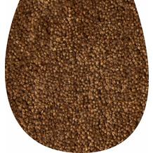 GRUND WC-Deckelbezug braun 47x50 cm