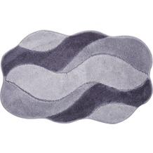 GRUND Badteppich CARMEN grau 60 cm x 100 cm