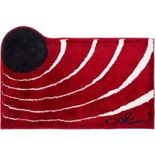 Colani 2 Badteppich rot 60 cm x 100 cm