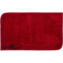 Colani 40 Badteppich rot 60 cm x 100 cm