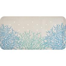 GRUND Dusch- und Wanneneinlage Reef blau Wanneneinlage 36x92 cm