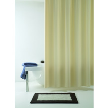 GRUND Duschvorhang Allura beige 120x200 cm