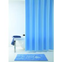 GRUND Duschvorhang Allura blau 120x200 cm