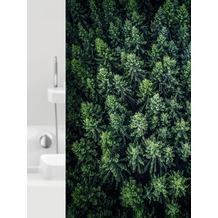 GRUND Duschvorhang Foresta grün 180x200 cm