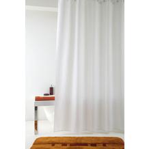 GRUND Duschvorhang Impressa weiß 120x200 cm