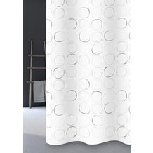 GRUND Duschvorhang Lentils grau 180x200 cm