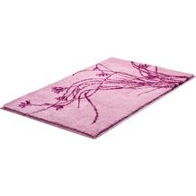 GRUND LILY Badteppich Rosé 50 x 60 cm WC-Vorleger ohne Ausschnitt
