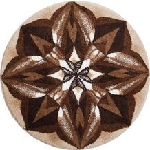 GRUND Mandala AUSSAGEKRAFT braun 100 cm rund