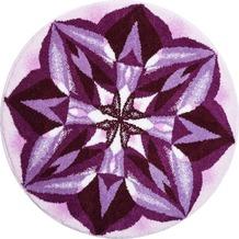 GRUND Mandala AUSSAGEKRAFT lila 100 cm rund