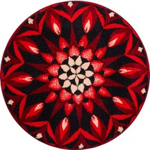 GRUND Mandala ERKENNTNIS rot 100 cm rund