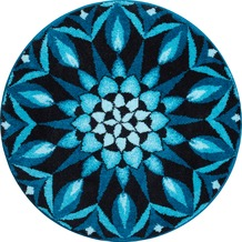 GRUND Mandala ERKENNTNIS blau 100 cm rund