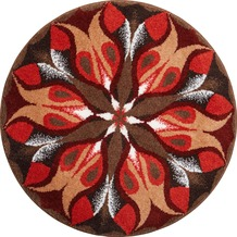 GRUND Mandala STILLES LICHT rot 100 cm rund
