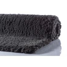 GRUND NAVONA Badteppich Anthrazit 60 x 60 cm WC-Vorleger ohne Ausschnitt