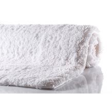 GRUND NAVONA Badteppich Weiß 60 x 60 cm WC-Vorleger ohne Ausschnitt