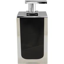 GRUND Seifenspender CUBE schwarz 7x7x14 cm