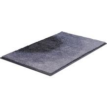 GRUND SUNSHINE Badteppich Grau 50 x 60 cm WC-Vorleger ohne Ausschnitt