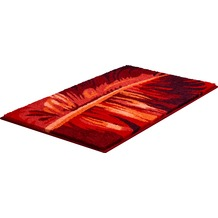 GRUND TROPICAL Badteppich Rubin 50 x 60 cm WC-Vorleger ohne Ausschnitt