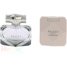 Gucci Bamboo Giftset edp spray 50ml/body lotion 100ml 150 ml