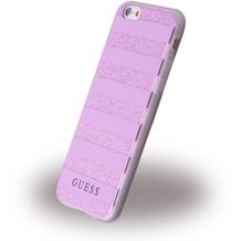Guess 3D Effect Stripes Tribal - SilikonCover - Apple iPhone 6/6s - Lila