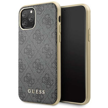 Guess Charms - 4G - Apple iPhone 11 Pro - Grau - Hard cover