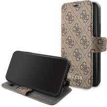 Guess Charms - Apple iPhone 11 Pro- Braun - Ledertasche Handyhülle Schutzhülle Handyhülle