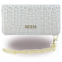 Guess Croco - Clutch / BookCover - Apple iPhone 6/6s - Beige