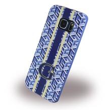 Guess G-Cube - TPU Handy Cover/ Case/ Schutzhülle - Samsung G925 Galaxy S6 Edge - Blau