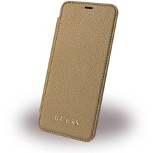 Guess IriDescent - Book Cover - Samsung G955F Galaxy S8 Plus - Gold