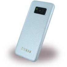 Guess IriDescent - Hardcover - Samsung G950F Galaxy S8 - Silber