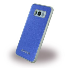 Guess IriDescent - Hardcover - Samsung G955F Galaxy S8 Plus - Blau