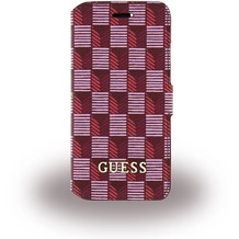 Guess Jet Set - Book Cover/Handyhülle/Tasche - Apple iPhone 6/6s - Pink