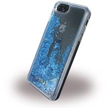 Guess Liquid Glitter - Hardcover - Apple iPhone 6 Plus, 6s Plus, 7 Plus - Blau