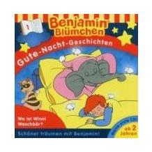 Benjamin Blümchen. Gute-Nacht-Geschichten 01: Wo ist Winnie Waschbär Lesung Hörbuch