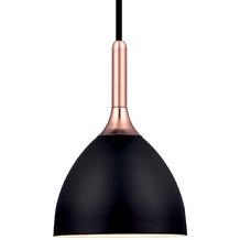 Halo Design Pendelleuchte Bellevue Ø24 schwarz Kupfer