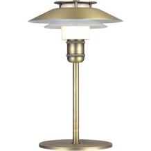 Halo Design Tischlampe 1123 Ø18 G9, antik messing