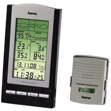 Hama Elektronische Wetterstation EWS-800  Schwarz/Silber