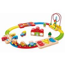 Hape Kleinkind Eisenbahn Regenbogen-Puzzle Eisenbahnset