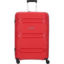 Hardware Tokyo 4-Rollen Trolley 75 cm red